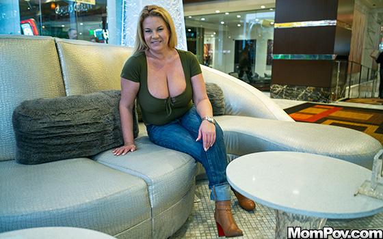Thick Big Natural Tits Blonde Milf – Abigail – MomPOV
